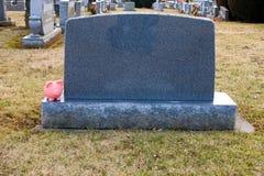 Blank Headstone stock photo. Image of gravestone ...