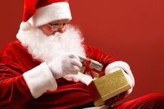 Preparing gifts Royalty Free Stock Image