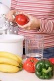Preparing Healthy Food Royalty Free Stock Photos