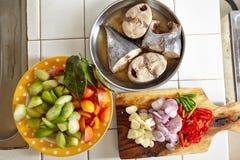 Preparing ingredient to cook Royalty Free Stock Image