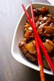 Preparing Korean food royalty free stock photos