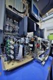 Preparing laboratory equipment Stock Photography
