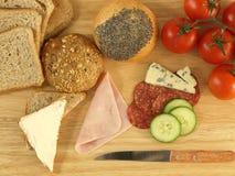 Preparing meal Stock Image