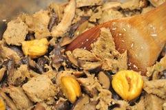 Preparing meat ingredients Stock Images