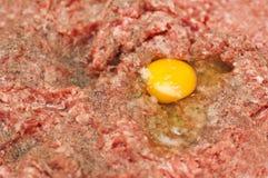 Preparing meatball Stock Image