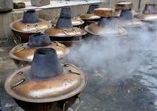 Preparing  Mongolian Hot Pot Stock Image
