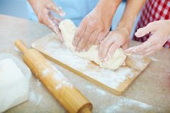 Preparing pastry Royalty Free Stock Photo