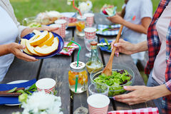 Preparing for picnic Stock Photography