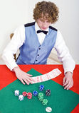 Preparing for Poker Stock Image