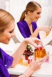 Preparing present Royalty Free Stock Photo
