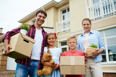 Preparing for relocation Royalty Free Stock Images