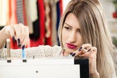 Preparing Sewing Machine Stock Images