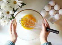 Preparing something sweet. Do you want some royalty free stock images