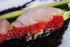 Preparing sushi Royalty Free Stock Image