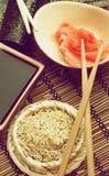 Preparing Sushi Royalty Free Stock Images