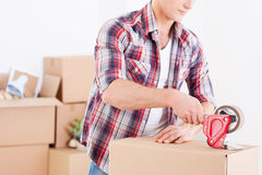 Preparing to moving. Royalty Free Stock Images