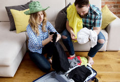 Preparing for vacation. Stock Image