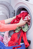 Preparing washing Royalty Free Stock Photo