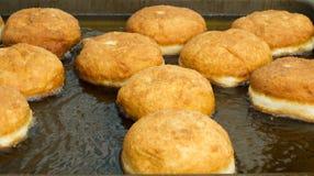 Prepartaion donuts Стоковые Фотографии RF