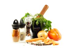 Prepering for cooking Stock Images