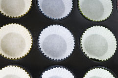 Prepering Cup-cakes Stock Photography