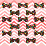Preppy pink chevron bowtie pattern. Seamless Preppy pink chevron bowtie pattern design. Ideal for print, web, backdrop, card Stock Image