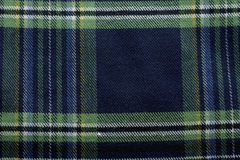 Preppy Plaid Stock Afbeelding