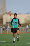 Preriscaldamento del giocatore di Lacrosse Fotografie Stock Libere da Diritti
