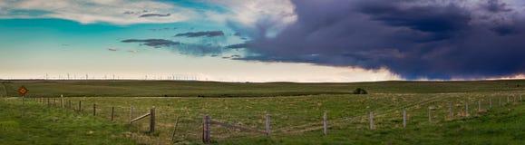 Preryjni krajobrazy obraz stock