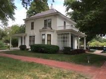 pres D Eisenhower ` s Boyhood Huis stock foto