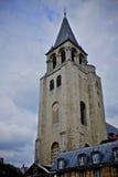 Pres del DES de St Germain de la iglesia de la abadía Fotos de archivo libres de regalías