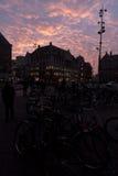 Presa Amsterdam cuadrada Foto de archivo