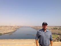 Presa de Asuán, Egipto Imagen de archivo libre de regalías