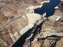 Presa de Hoover, aguamiel del lago. Imagen de archivo