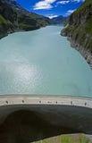 Presa de Mauvoisin, Bagnes, Valais, Suiza Fotos de archivo libres de regalías