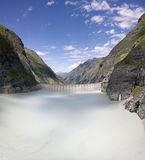 Presa de Mauvoisin, Bagnes, Valais, Suiza Fotos de archivo