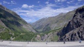 Presa de Mauvoisin, Bagnes, Valais, Suiza metrajes