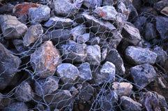 Presa de piedra. Fotografía de archivo