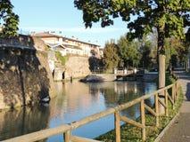 Presa de Treviso Foto de archivo