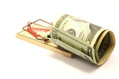 Presa dei soldi Immagine Stock Libera da Diritti