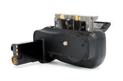 Presa della batteria della macchina fotografica Immagini Stock Libere da Diritti