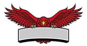 Presa della mascotte di Eagle il segno royalty illustrazione gratis