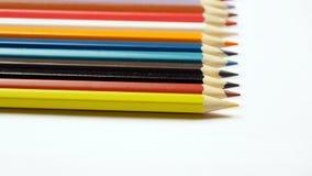 Presa della matita colorata Fotografia Stock