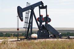 Presa della pompa che alza petrolio greggio Fotografie Stock Libere da Diritti