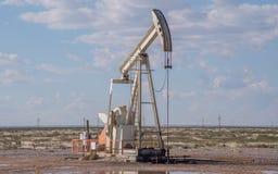 Presa della pompa nel Texas immagini stock