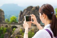 Presa delle immagini di attrazione turistica Immagini Stock
