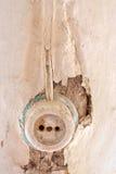 Presa di parete Fotografia Stock Libera da Diritti