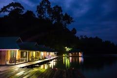 Presa en Tailandia, en la montaña Imagenes de archivo