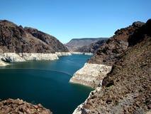 Presa Hoover/el río Colorado Fotos de archivo