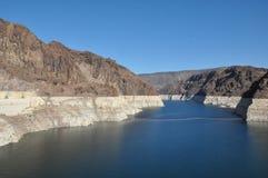 Presa Hoover en Nevada Fotos de archivo libres de regalías